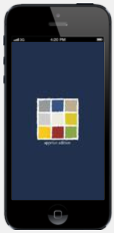 Smartphone-Farb-App